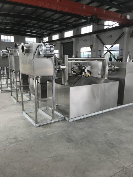 餐饮油水分离器设备