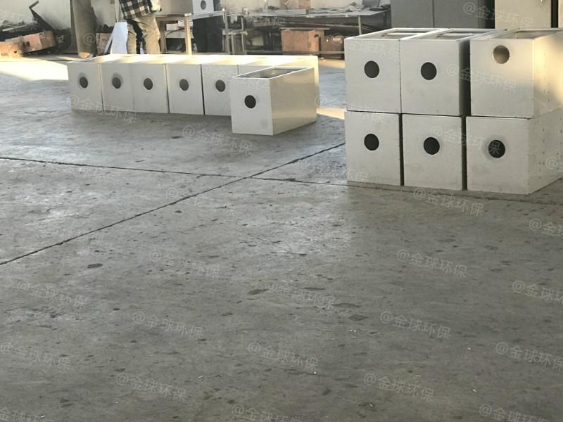 处理量7吨长1600*宽1000*高1200隔油强排设备