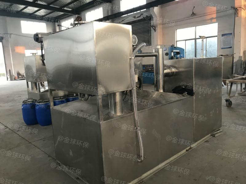 處理量6噸長1500*寬1000*高1200廚房油水分離器怎么樣