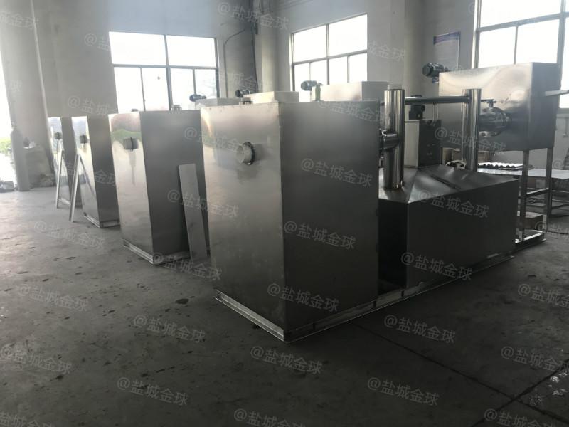 油水分離器的作用4000人處理量40噸長3000*寬1500*高1200