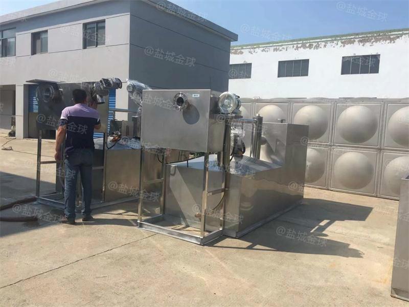景德镇油水分离机器施工图